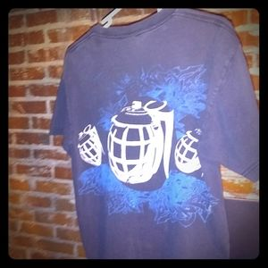 WORK SHIRT. Etnies grenade t shirt size Medium
